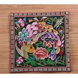 Festival Gift Original Embroidery Cushion Cover National Style Inn Hotel Embroidery Boster Case    peacock - Mega Save Wholesale & Retail - 1