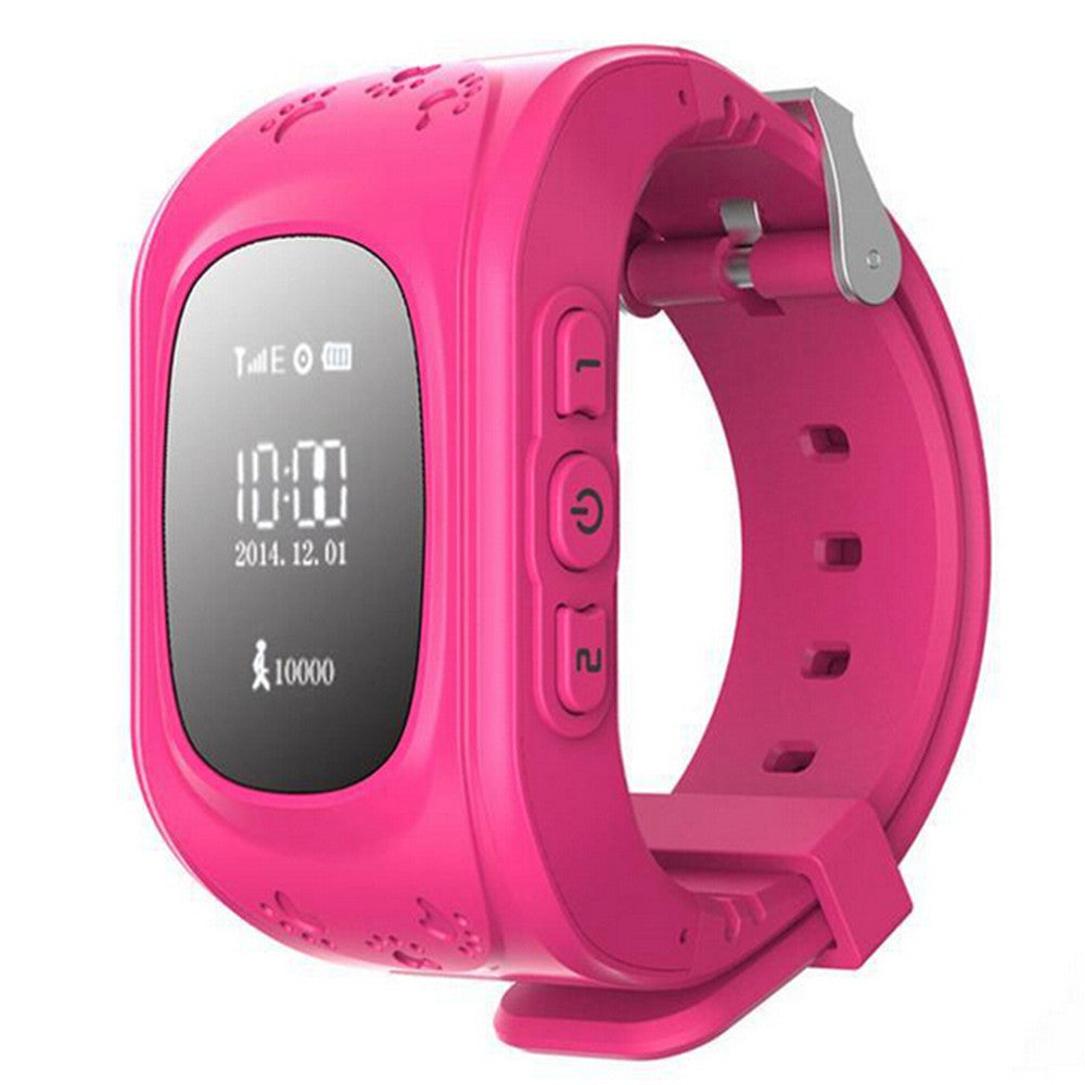 Kid Wrist GPS Tracker Real-time Positioning Tracker Watch SOS   blue - Mega Save Wholesale & Retail - 3