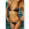 Bikini Swimwear Swimsuit Sexy Gauze   black - Mega Save Wholesale & Retail - 1