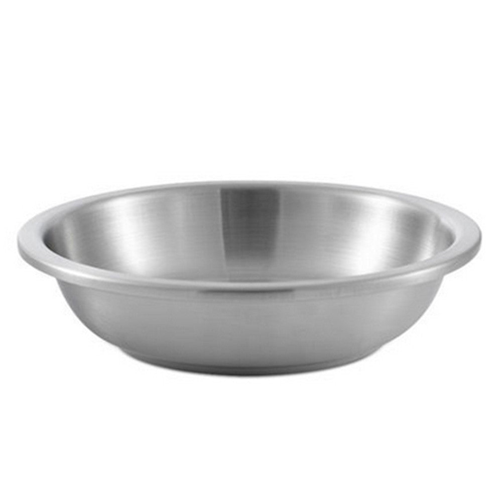 304 Stainless Steel Thick Deep Round Plate 20cm - Mega Save Wholesale & Retail - 3