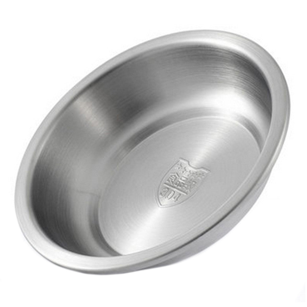 304 Stainless Steel Thick Deep Round Plate 20cm - Mega Save Wholesale & Retail - 4