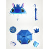 Cute Cartoon Animal Umbrella for Kids Animal Ears Bend Handle   Stitch - Mega Save Wholesale & Retail