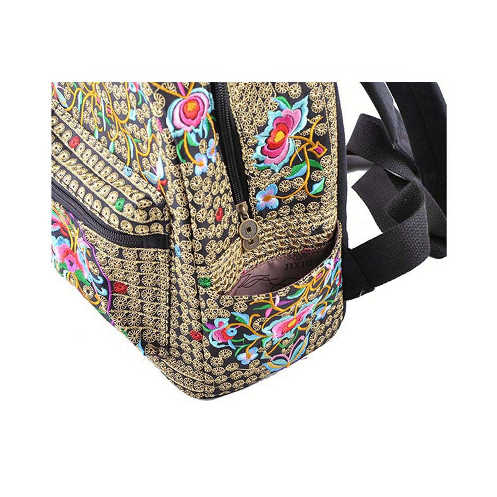 New Yunnan Fshionable National Style Embroidery Bag Stylish Featured Shoulders Bag Fshionable Woman's Bag Bulk   copper crash tree - Mega Save Wholesale & Retail - 2