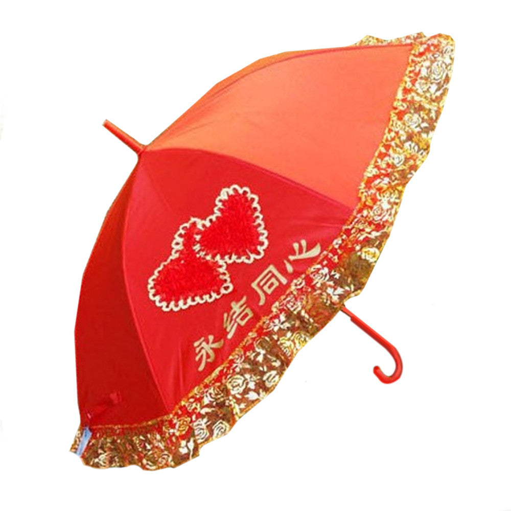 Wedding Lace Bridal Sunscreen Umbrella - Mega Save Wholesale & Retail