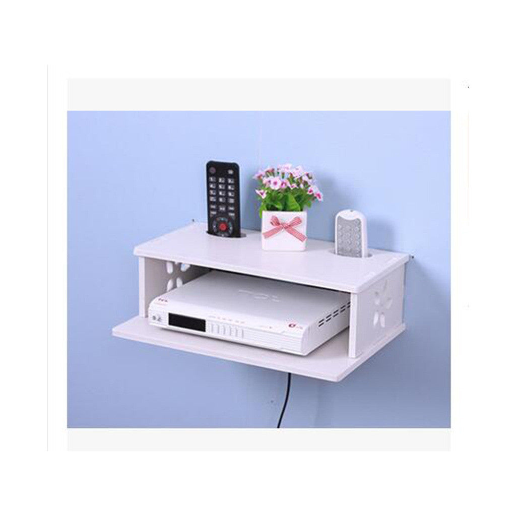 TV STB Box Router Creative Hollow Commodity Shelf - Mega Save Wholesale & Retail