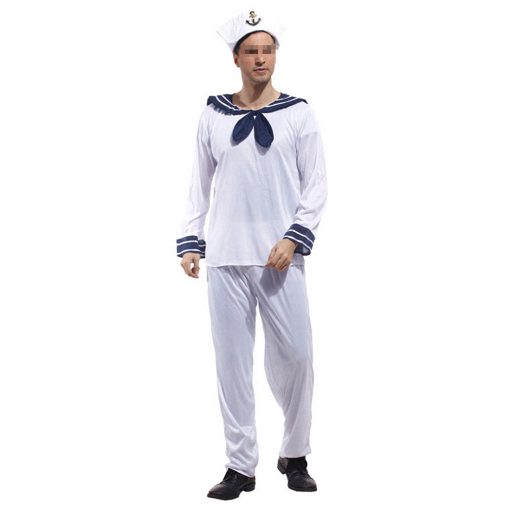 Halloween Cosplay Stage Costumes Navy Sailor - Mega Save Wholesale & Retail - 1