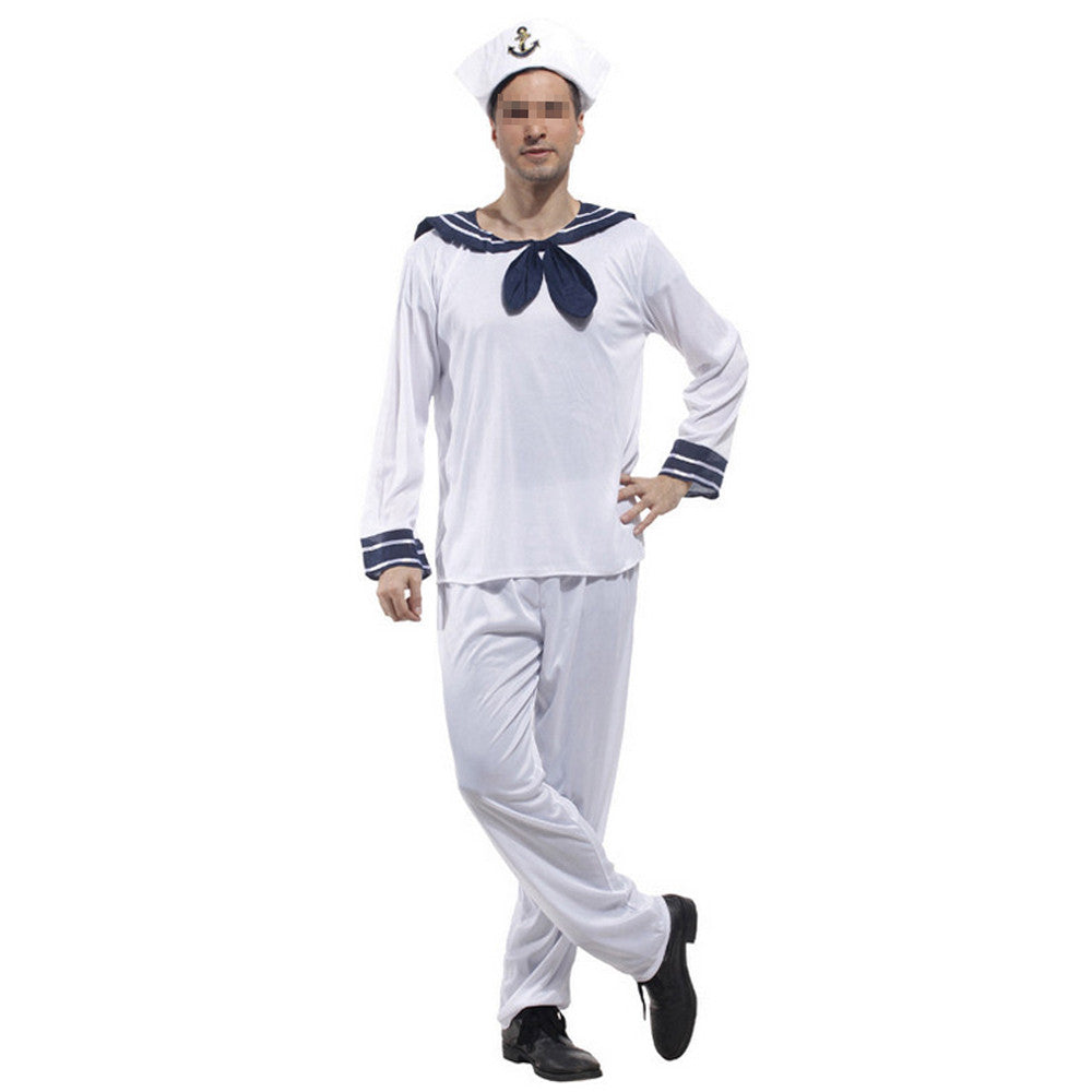 Halloween Cosplay Stage Costumes Navy Sailor - Mega Save Wholesale & Retail - 3
