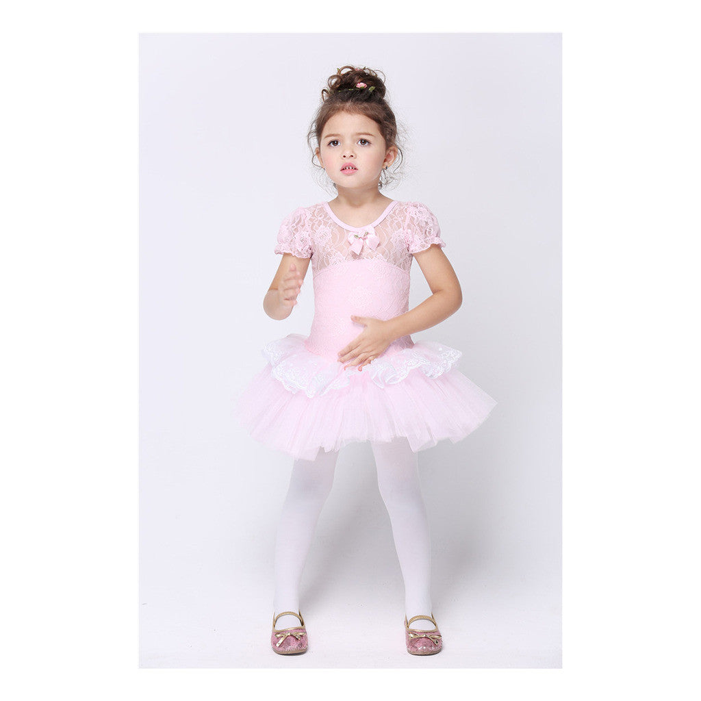 Children Kid Girl Dancing Dress Costume Chorus Ballet Skirt - Mega Save Wholesale & Retail
