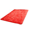 Thick Water Wash Fluff Non-slip Ground Mat Carpet   bright red  40*60cm - Mega Save Wholesale & Retail