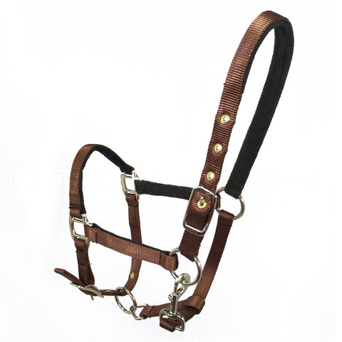 Bridle Headstall Wear-resisting Equestrianism Supplies  dark brown  M - Mega Save Wholesale & Retail