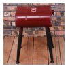 Vintage Oil Bucket Iron Stool Bar Cafes Chair   red - Mega Save Wholesale & Retail - 1
