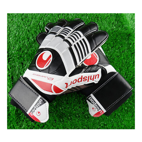 Colorful Non-slip Goalkeeper Gloves Roll Finger   black   8 - Mega Save Wholesale & Retail - 1