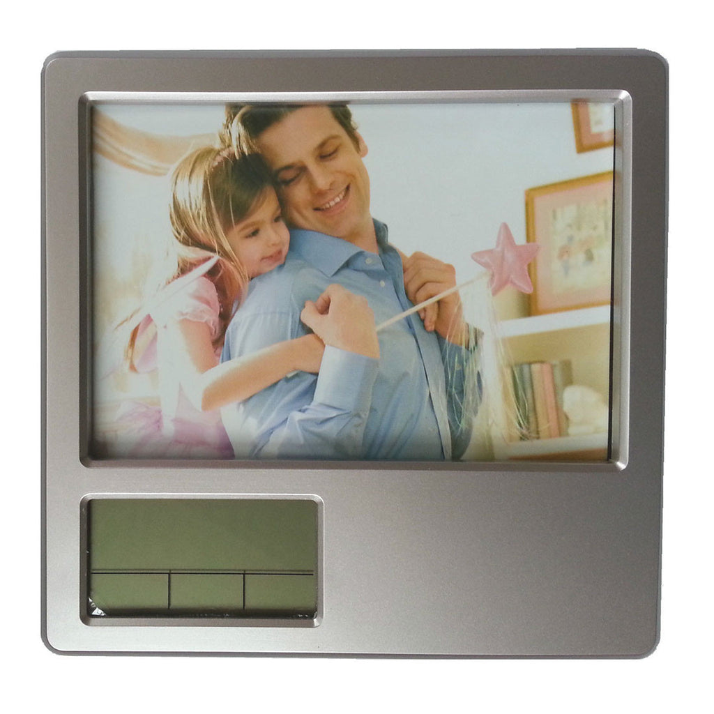 Multi-functional electronic pen Alarm clock Alarm Clock Photo Frame frame folding frame calendar penholder - Mega Save Wholesale & Retail - 5