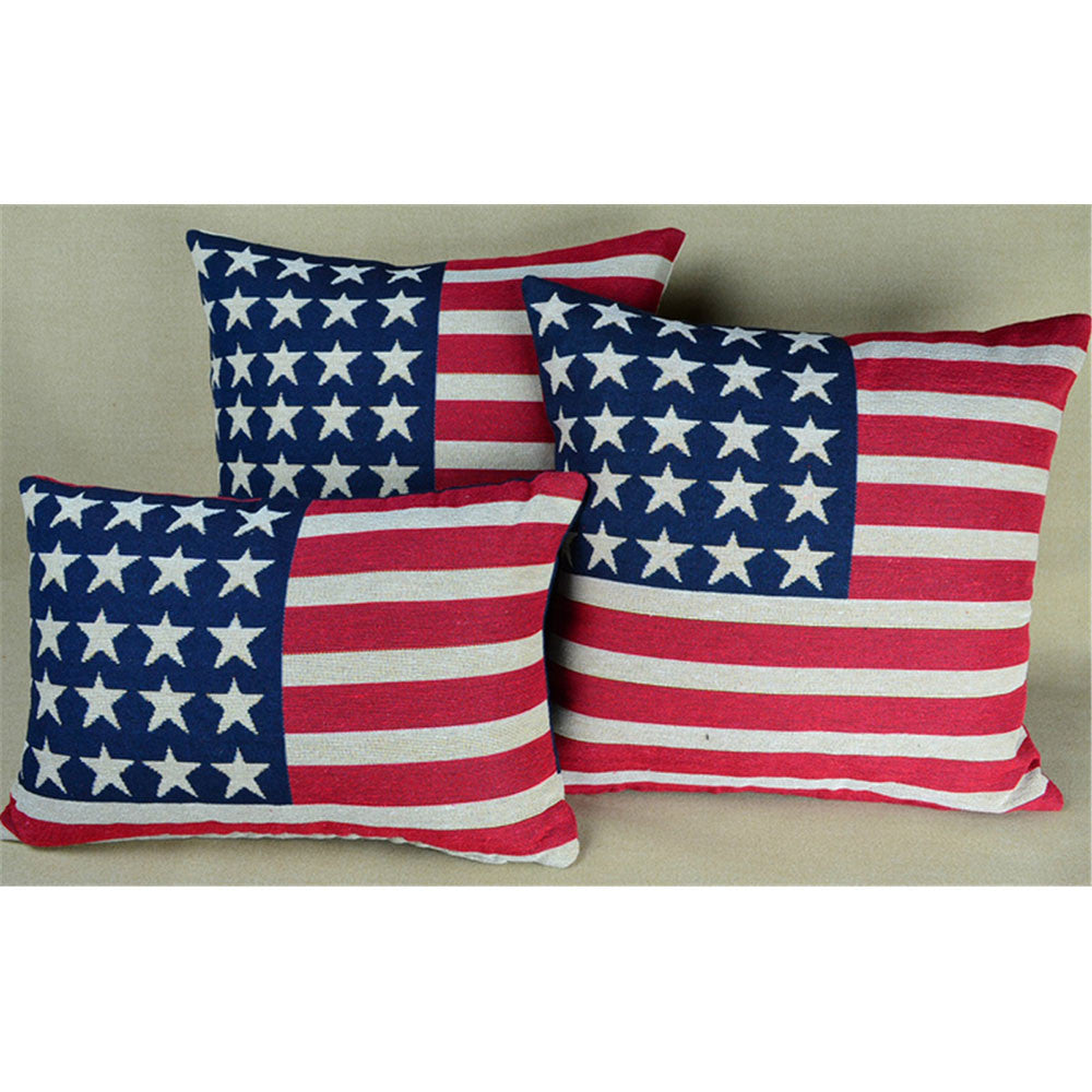 Cushion Throw Pillow -British Flag -Cotton Canvas   United States - Mega Save Wholesale & Retail