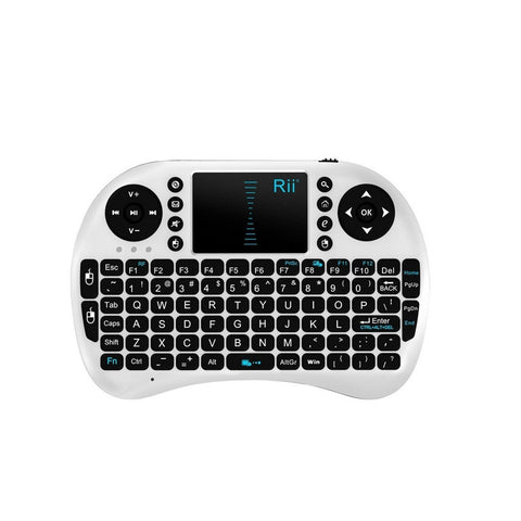 2.4G Rii Mini i8+ Wireless Keyboard with Touchpad for PC Pad Andriod TV Box - Mega Save Wholesale & Retail