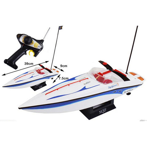 1:25 Radio Remote Control Speedboat RC Electric Racing Watercraft Yacht Toy Hobby - Mega Save Wholesale & Retail