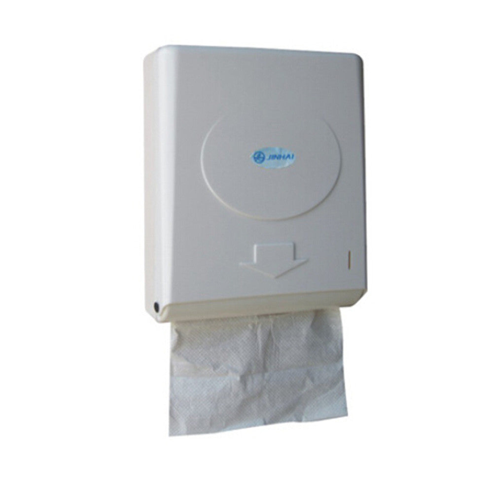 Slimroll White Hard Roll Hand Paper Towel Dispenser Black White Transparent Color - Mega Save Wholesale & Retail - 3