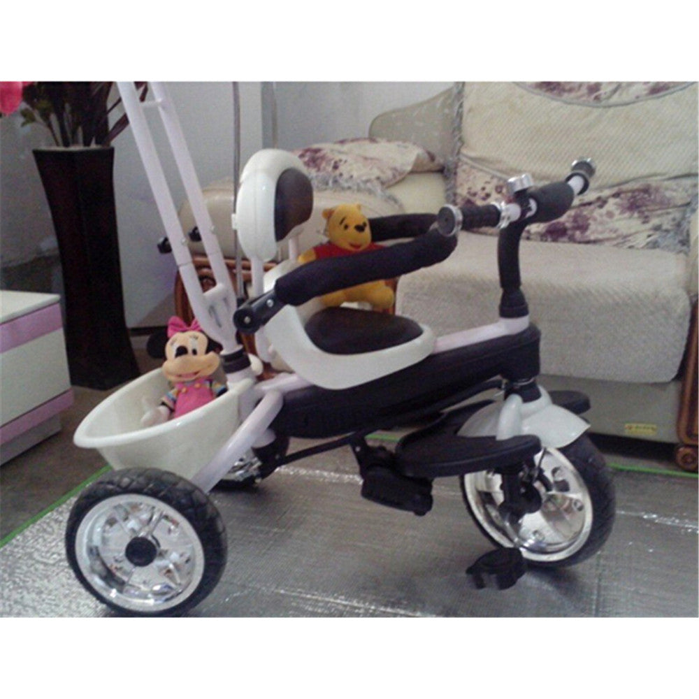 4 in 1  Baby Stroller Tricycle Trolley Carriage Bike Bicycle Wheels Walker with Harness - Mega Save Wholesale & Retail - 2