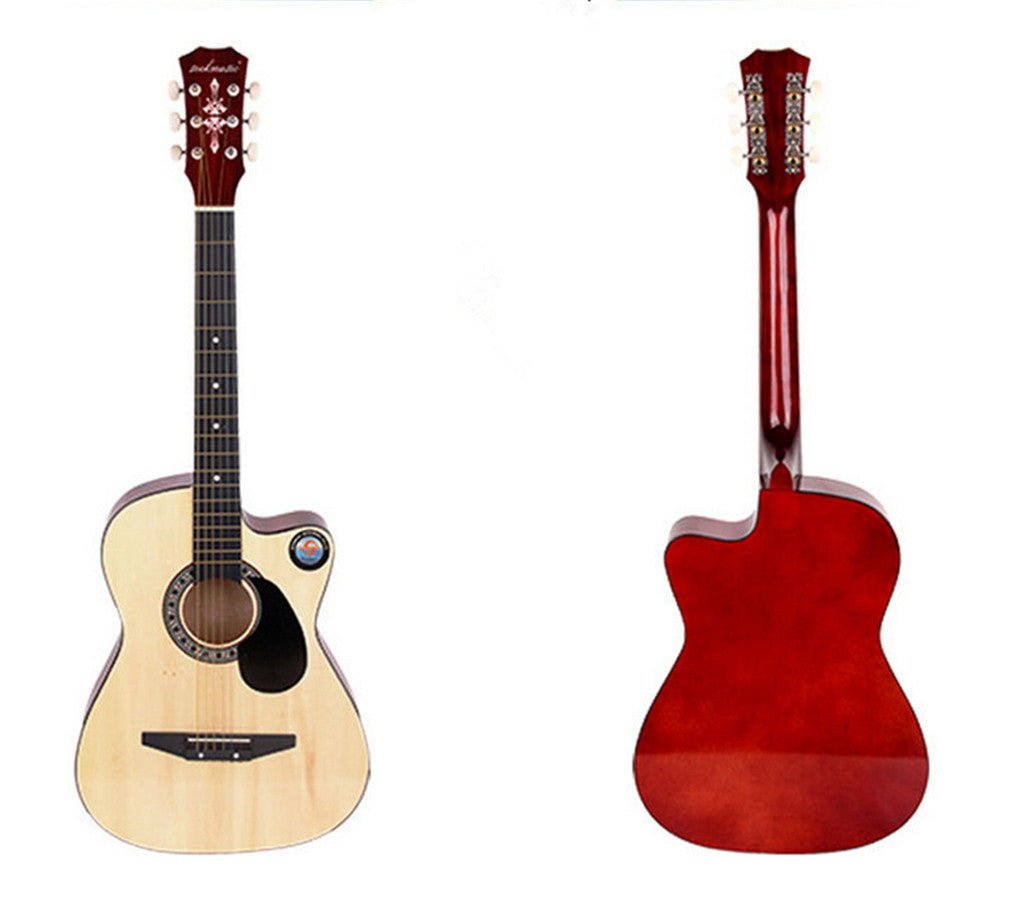 New Professional Acoustic Callaway Folk 38 inch  Guitar STAGE ESSENTIALS Wood - Mega Save Wholesale & Retail