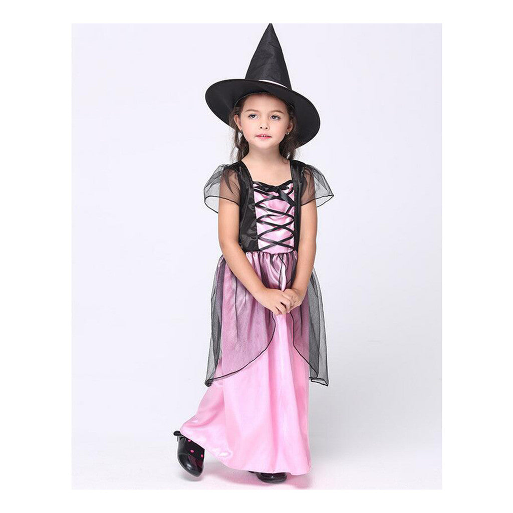 European Children Kid Girl Costume Cosplay Witch Comestics Dancing Party Dress Attire - Mega Save Wholesale & Retail
