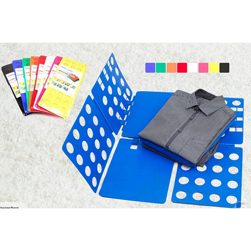 Laundry Adult/children  Magic Fast Speed Folder Clothes T Shirt Folding Board - Mega Save Wholesale & Retail - 2