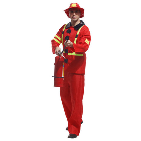 Halloween Cosplay Costume Ball Firefighter Uniform - Mega Save Wholesale & Retail - 1