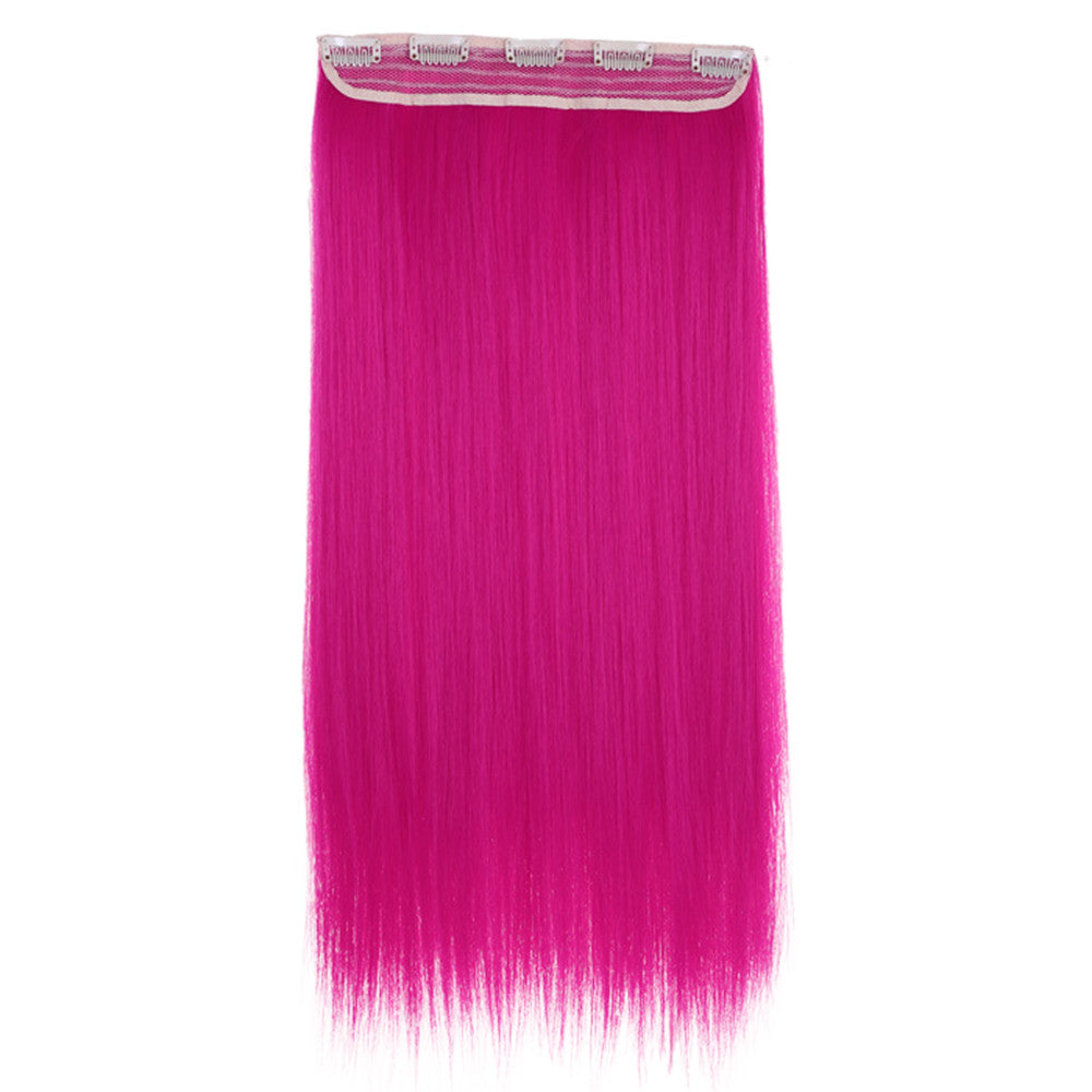 Wholesale color wig hair extension piece a five-card straight hair gradient hair piece long straight hair piece hair extension   NEW ROSE - Mega Save Wholesale & Retail - 1
