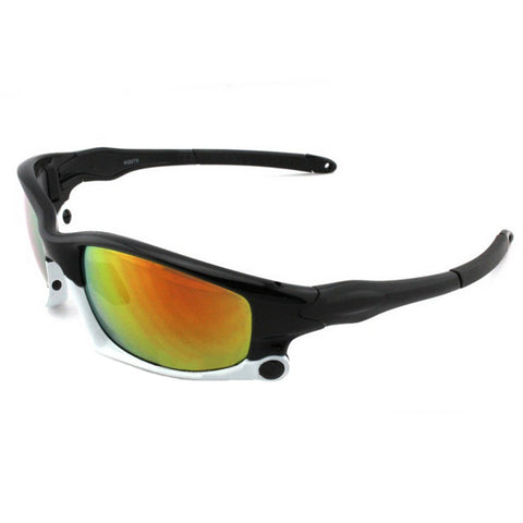 073 Sunglasses Polarized Glasses Outdoor Sports Riding    upper black down white