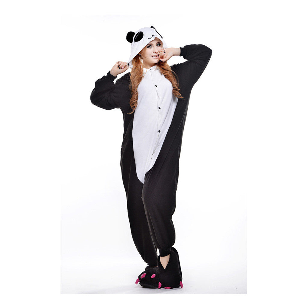 Unisex Adult Pajamas  Cosplay Costume Animal Onesie Sleepwear Suit  Tears Panda - Mega Save Wholesale & Retail