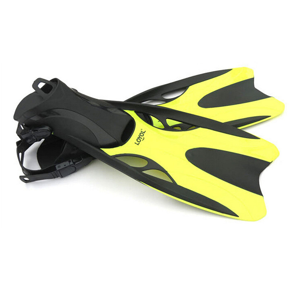 Dive Snorkeling Swimming Scuba Fins Split Fins L Yellow - Mega Save Wholesale & Retail