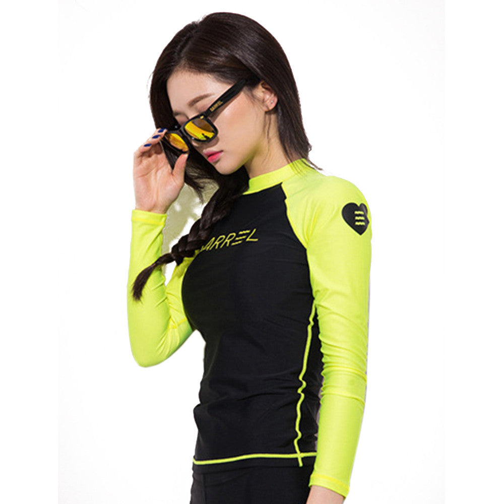 S043 Surfing Diving Suit Wetsuit Topwear  S - Mega Save Wholesale & Retail - 3