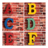 America Vintage Letters Wall Hanging Decoration   F - Mega Save Wholesale & Retail - 1