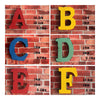 America Vintage Letters Wall Hanging Decoration   X - Mega Save Wholesale & Retail - 1