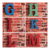 America Vintage Letters Wall Hanging Decoration   Q - Mega Save Wholesale & Retail - 2
