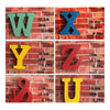 America Vintage Letters Wall Hanging Decoration   Q - Mega Save Wholesale & Retail - 4