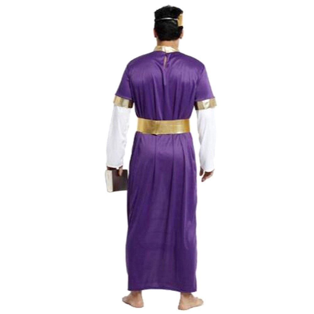 Halloween Cosplay Mask Costume Ball Costumes King Robe - Mega Save Wholesale & Retail - 3