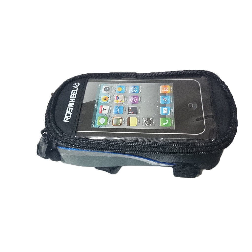 Roswheel Bike Bicycle Mobile Phone Top Tube Bag Case 4 Iphone 4S 5 Samsung HTC Red S - Mega Save Wholesale & Retail - 2