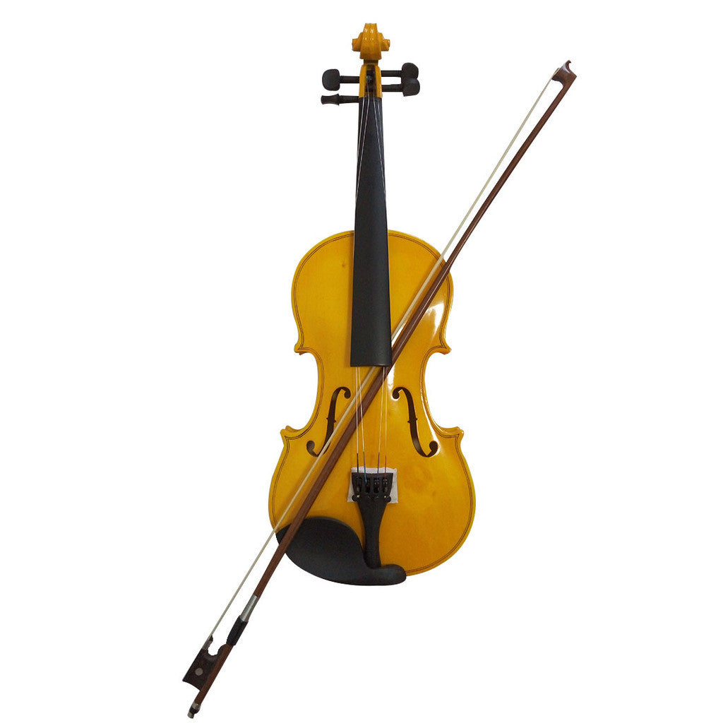 Student Acoustic Violin Full 4/4 Maple Spruce with Case Bow Rosin Gold Color - Mega Save Wholesale & Retail