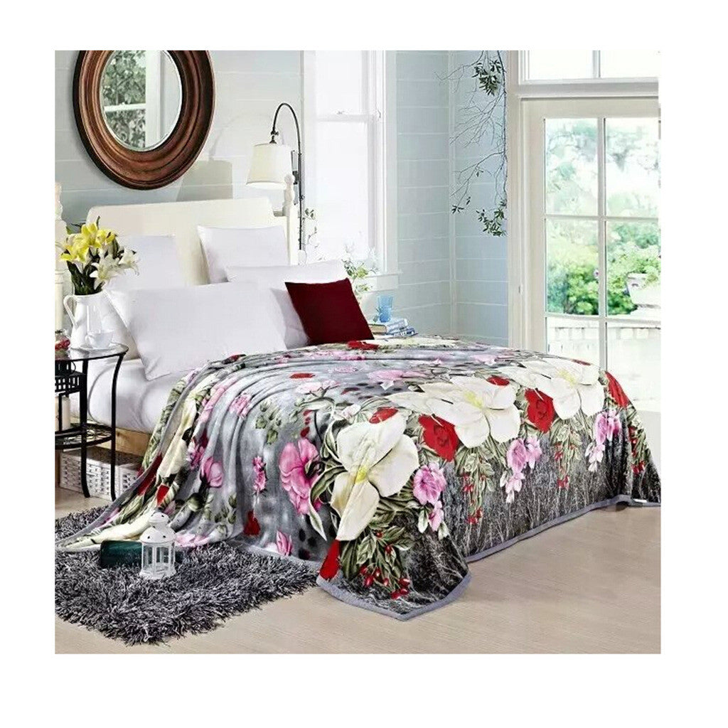 Two-side Blanket Bedding Throw Coral fleece Super Soft Warm Value  29 - Mega Save Wholesale & Retail