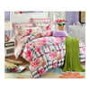 Bed Quilt Duvet Sheet Cover 4PC Set Upscale Cotton Sanded simple but elegant  005 - Mega Save Wholesale & Retail