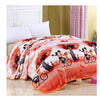 Two-side Blanket Bedding Throw Coral fleece Super Soft Warm Value  04 - Mega Save Wholesale & Retail