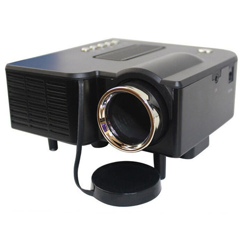 Portable mini Projector HD1080P Home Multimedia LED Mini Theater projector 110V Black - Mega Save Wholesale & Retail - 1