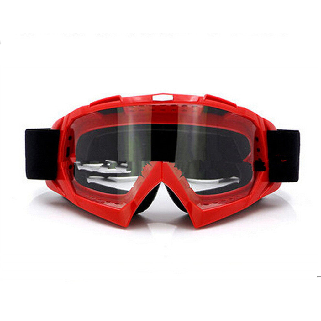 Adult Colourful double Lens Snow Ski Snowboard Goggles Motocross Anti-Fog Fashion Eye Protection Red Lucency - Mega Save Wholesale & Retail