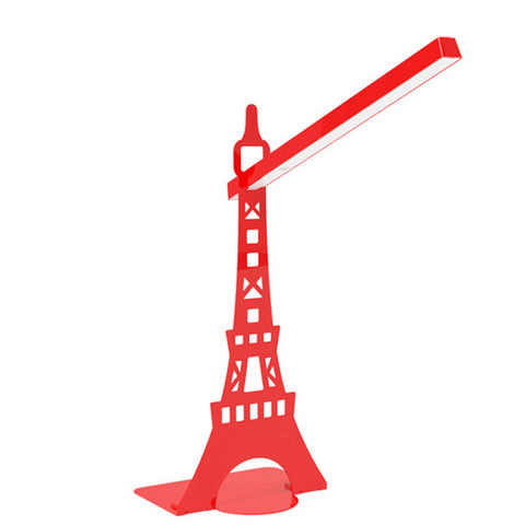 Desk  Rotatable table LED  Lamp USB  charging  touch lamp  Paris tower Red - Mega Save Wholesale & Retail - 1