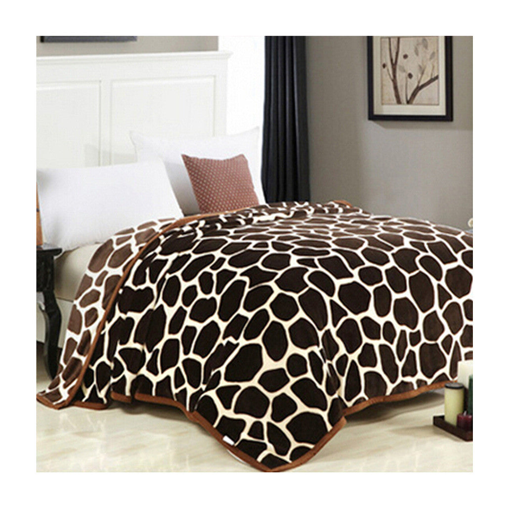 Two-side Blanket Bedding Throw Coral fleece Super Soft Warm Value 180cm 09 - Mega Save Wholesale & Retail