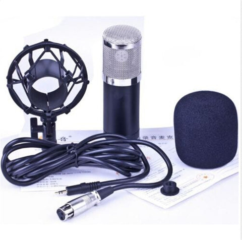 Professional Condenser Cardioid Recording Microphone 4 Broadcast Studio Computer Black - Mega Save Wholesale & Retail