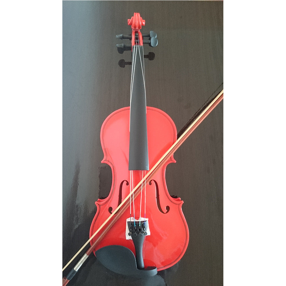 Student Acoustic Violin Full 1/2 Maple Spruce with Case Bow Rosin Red Color - Mega Save Wholesale & Retail