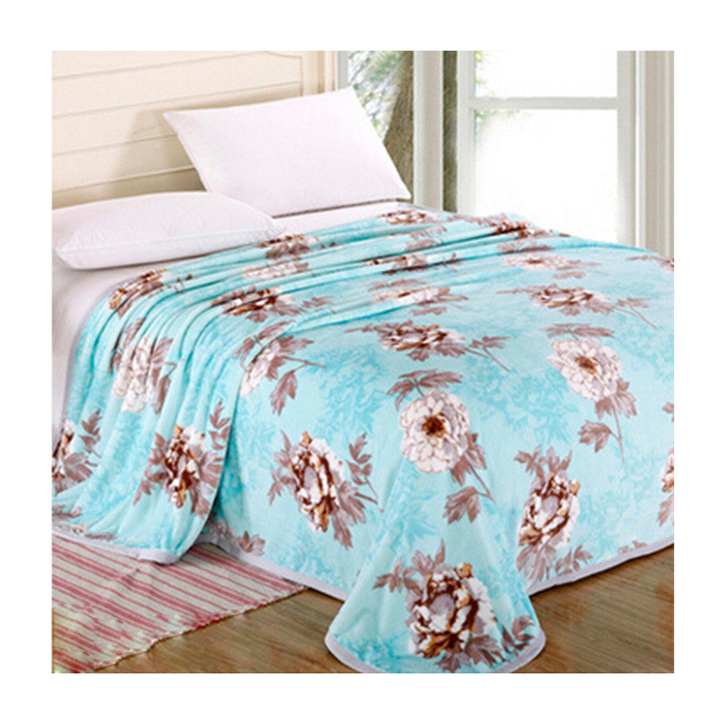 Two-side Blanket Bedding Throw Coral fleece Super Soft Warm Value 200cm 11 - Mega Save Wholesale & Retail