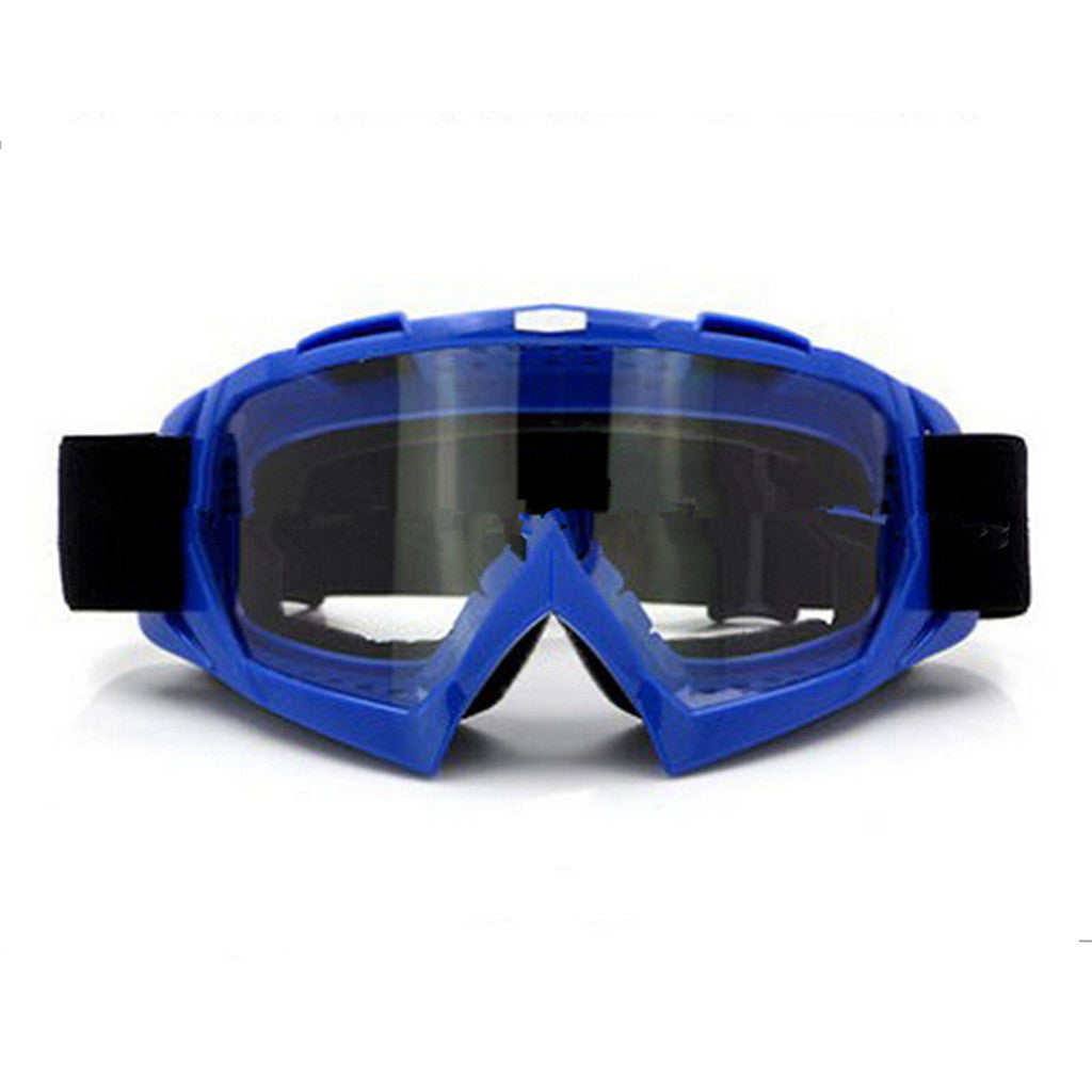 Adult Colourful double Lens Snow Ski Snowboard Goggles Motocross Anti-Fog Fashion Eye Protection Blue Lucency - Mega Save Wholesale & Retail