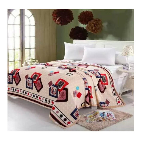 Two-side Blanket Bedding Throw Coral fleece Super Soft Warm Value  32 - Mega Save Wholesale & Retail